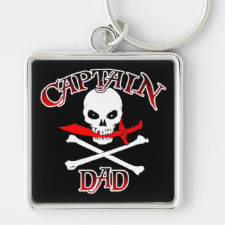 Captain Dad Key Chain