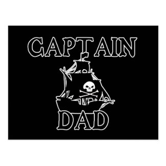 Captain Dad Postcard