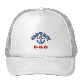CAPTAIN DAD TRUCKER HAT