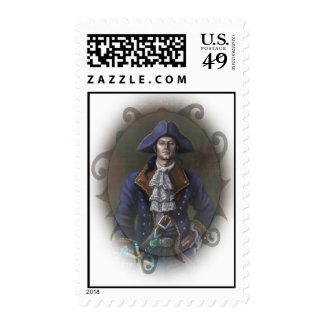 Captain Davage Postage Stamps