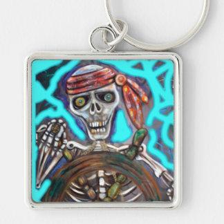 Captain Death Keychain