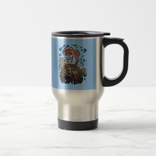 Captain Death Travel Mug