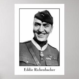 Captain Eddie Rickenbacker Poster