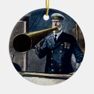 Captain Edward Smith RMS Titanic Vintage Ceramic Ornament