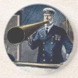 Captain Edward Smith RMS Titanic Vintage Drink Coasters