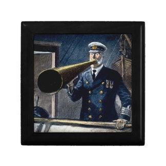 Captain Edward Smith RMS Titanic Vintage Keepsake Box