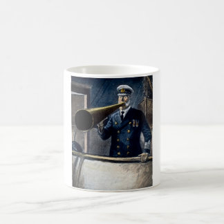 Captain Edward Smith RMS Titanic Vintage Coffee Mugs