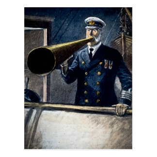 Captain Edward Smith RMS Titanic Vintage Postcard