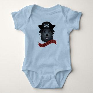 Captain el perro negro -  del mono del jersey del