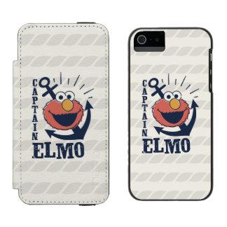 Captain Elmo Wallet Case For iPhone SE/5/5s