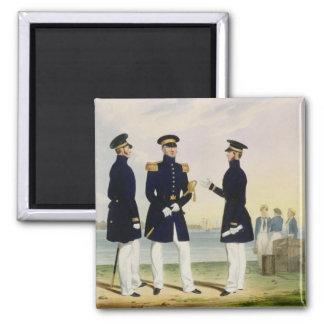 Captain, Flag Officer and Commander (Undress) plat Magnet