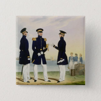 Captain, Flag Officer and Commander (Undress) plat Pinback Button