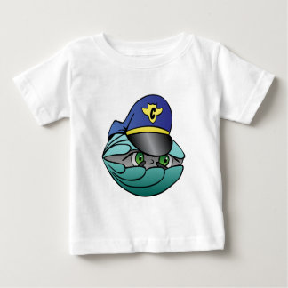 Captain focus on goal and success infant t-shirt