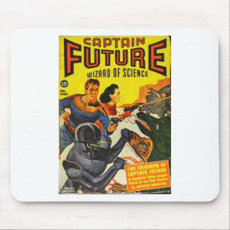 Captain Fure and the Space Dogs Mouse Pad