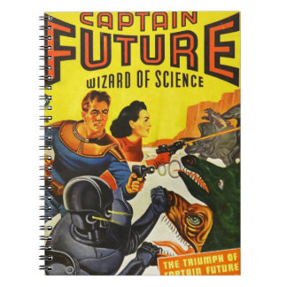 Captain Fure and the Space Dogs Notebook