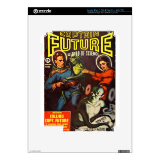 Captain Future and Solar Doom. Decal For iPad 3