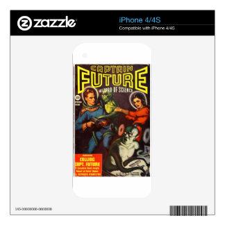 Captain Future and Solar Doom. iPhone 4 Decal
