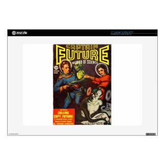 Captain Future and Solar Doom. Laptop Decal