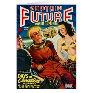 Captain Future and the Brain Box Card