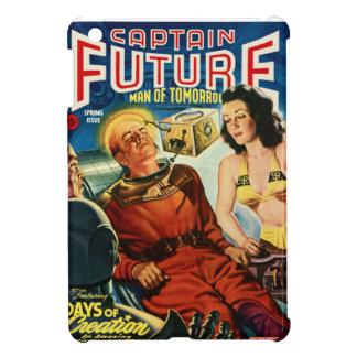 Captain Future and the Brain Box iPad Mini Cover