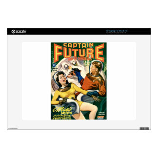 """Captain Future and the Magic Moon Decal For 15"""" Laptop"""