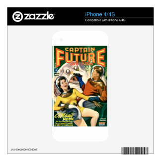 Captain Future and the Magic Moon Skin For The iPhone 4S