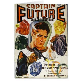 Captain Future and the Space Stones Card