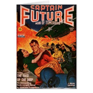 Captain Future and the Volcano Card
