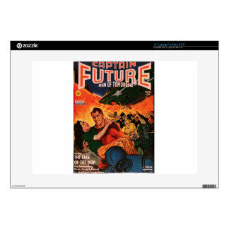 Captain Future and the Volcano Decal For Laptop