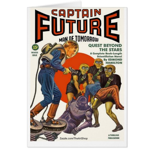 Captain Future Card