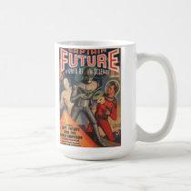 Captain Future First Issue Feb 1940 Pulp Coffee Mug