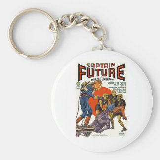Captain Future Keychain