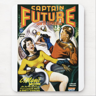 Captain Future - Magic Moon Mouse Pad