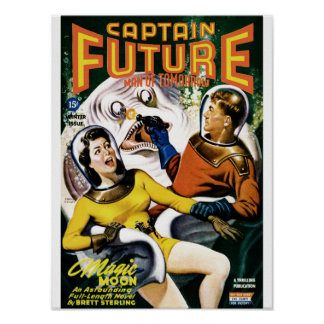 Captain Future - Magic Moon Poster