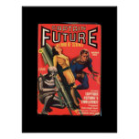 Captain Future_Pulp Art Poster