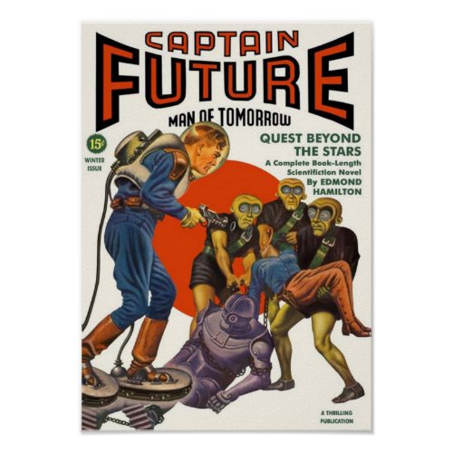 Captain Future -- Quest beyond the Stars
