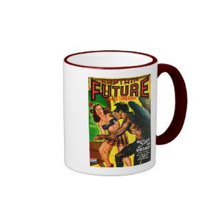 Captain Future - Star Dread! Ringer Coffee Mug