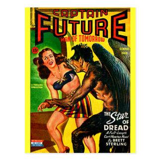 Captain Future - Star Dread! Postcards