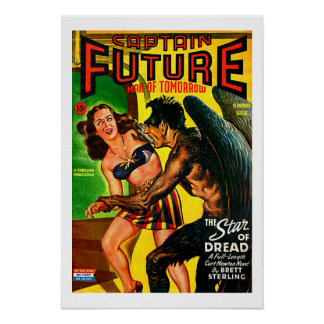 Captain Future - Star of Dread Posters