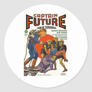 Captain Future Stickers