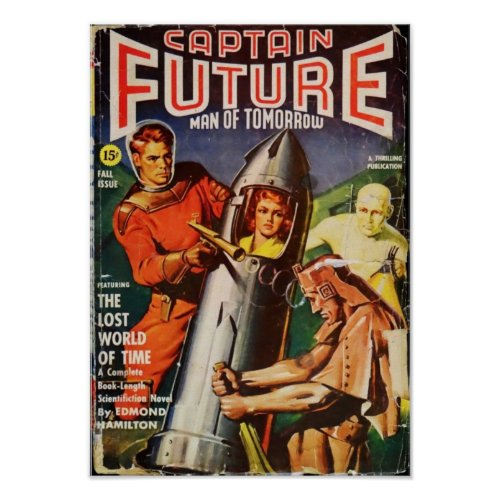 Captain Future -- the  Lost World of Time