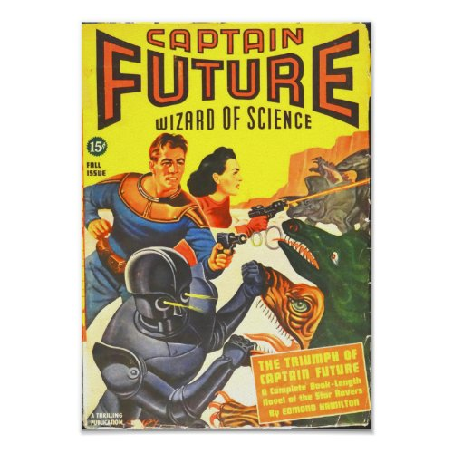 Captain Future -- The Triumphs of Captain Future