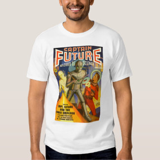 Captain Future Winter 1940 first issue, T-shirt