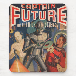 Captain Future, Wizard of Science Pulp first Issue Mouse Pad