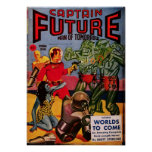 Captain Future -- Wolrds of Tomorrow Poster