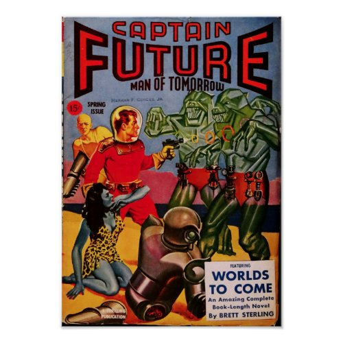 Captain Future -- Wolrds of Tomorrow