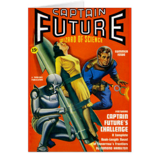 Captain Future's Challenge! Greeting Card