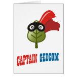 Captain GEDCOM Greeting Cards