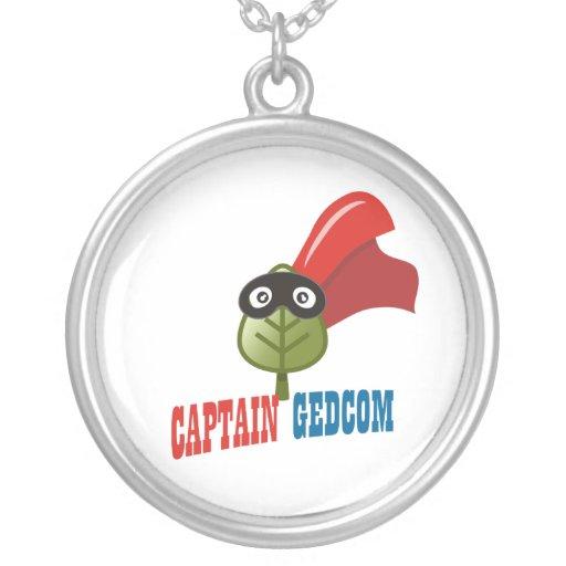 Captain GEDCOM Personalized Necklace
