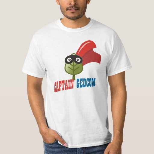 Captain GEDCOM T-Shirt